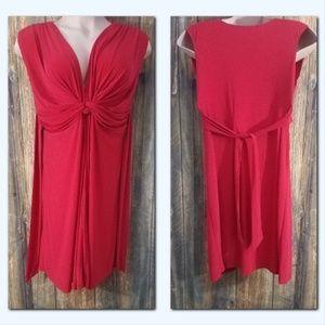 JFW Women's Size 2X Red Dress